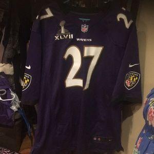 Men's Ravens Jersey still has tags. Never worn